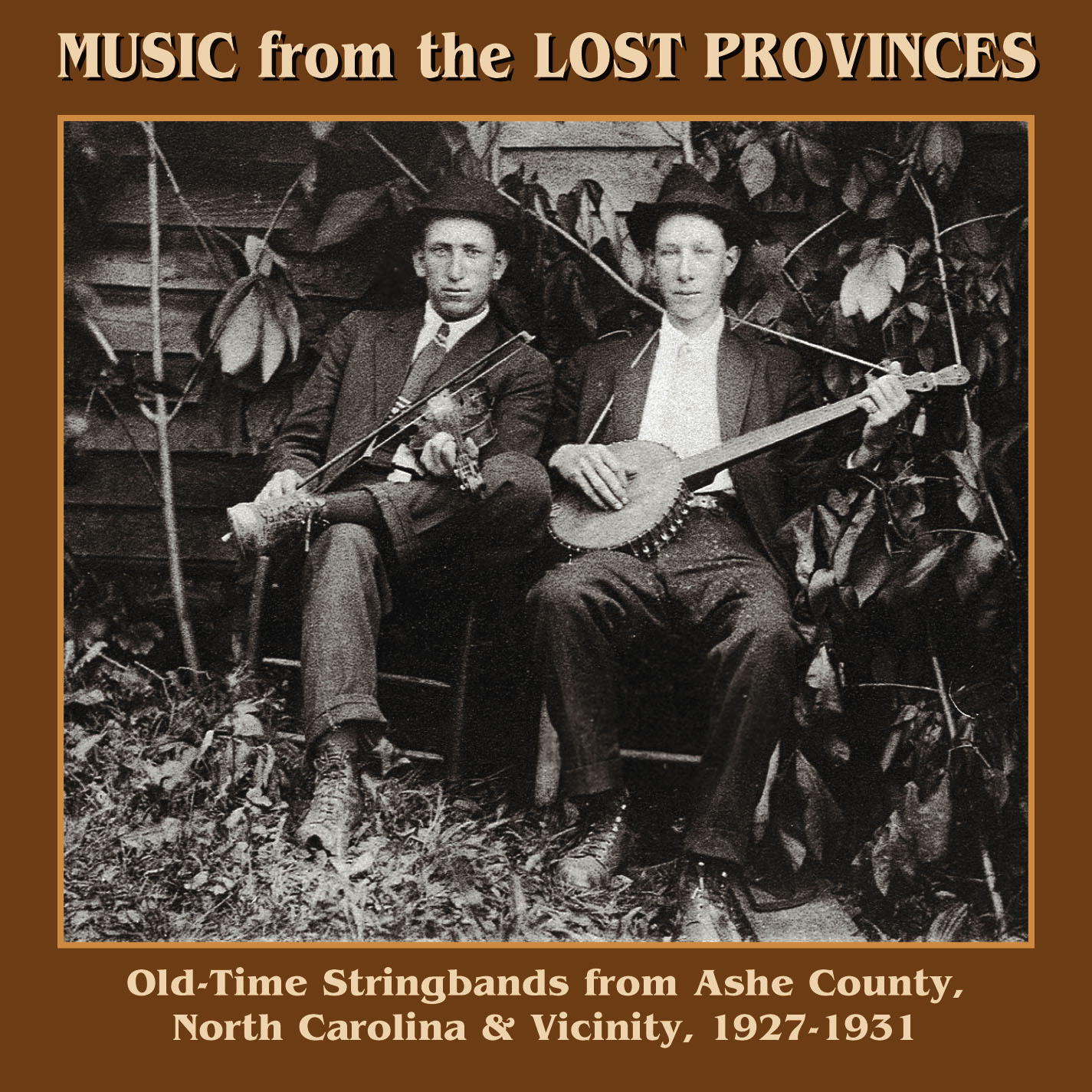 Music From The Lost Provinces - High Resolution Cover