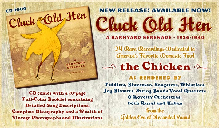 Cluck Old Hen Available Nov. 20