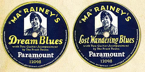 Ma Rainey Portrait Labels