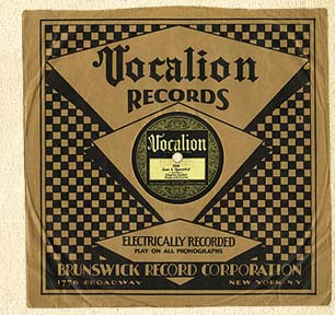 Vocalion Record